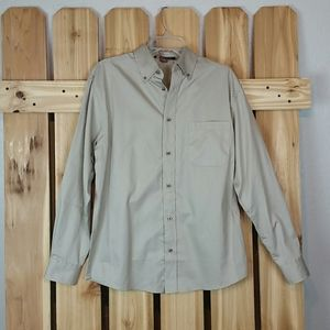 Men's Harriton Button Down Shirt NWT